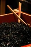 日本海草,垂直 库存图片