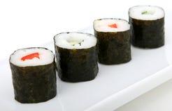 日本海鲜寿司 免版税库存照片