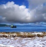 日本海,符拉迪沃斯托克, Popova海岛,俄罗斯 库存图片