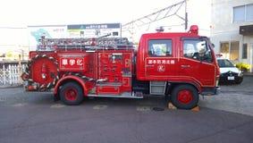 日本消防车装置 免版税库存图片