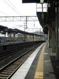 日本火车站 免版税库存图片
