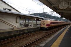 日本火车站 免版税库存照片