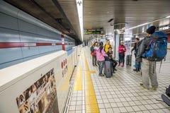 日本火车站 图库摄影