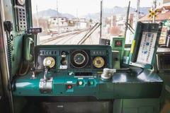 日本火车 免版税库存图片