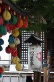 日本灯笼 图库摄影