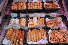 日本烹调 免版税库存照片