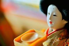 日本玩偶 免版税库存图片