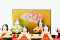 日本玩偶 免版税图库摄影