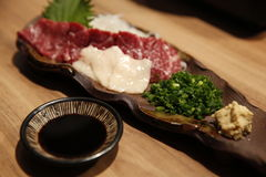 日本生肉 免版税库存照片