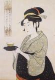 日本的传统服装 库存照片