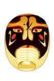 日本的日本灯笼或灯传统照明设备 免版税库存图片