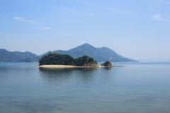 日本的濑户濑户内海 库存照片