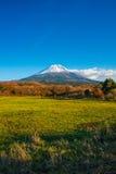 日本的秋天风景 图库摄影