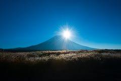 日本的秋天风景 免版税库存图片