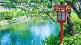 日本的街灯 免版税图库摄影