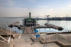 日本码头pukari横滨 免版税库存图片