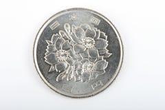 日本硬币 免版税库存图片