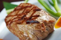 日本神户烤肋条肉 库存照片
