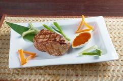 日本神户烤肋条肉 库存图片