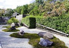日本禅宗庭院 图库摄影