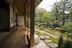 日本空间扯窗tatami 免版税库存图片