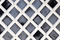 日本老传统墙壁 免版税库存图片