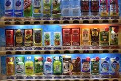 日本自动售货机 免版税库存图片