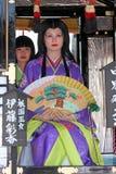 日本节日在鹿儿岛 免版税库存照片