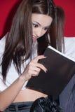 日本芳香树脂布料样式的夫人 免版税库存图片
