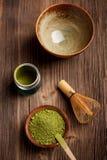 日本茶道图象 库存照片