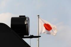 日本蒸汽机车时代 免版税库存照片
