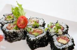 日本融合食物 图库摄影