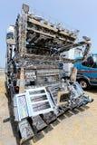 日本装饰货物卡车 免版税图库摄影