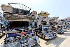 日本装饰货物卡车 库存照片