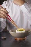 日本豆腐 免版税图库摄影