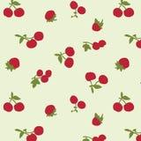 日本逗人喜爱的樱桃样式 皇族释放例证