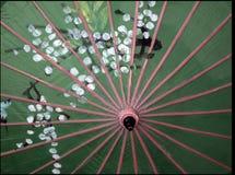 日本遮阳伞 库存图片