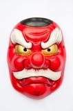 日本邪魔面具 免版税图库摄影