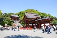 日本镰仓 库存照片