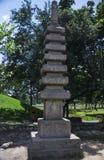 日本雕塑 免版税图库摄影
