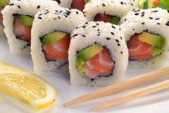 日本食物。 免版税库存照片