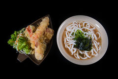 日本食物乌龙面 库存照片