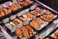 日本食物在京都 库存照片