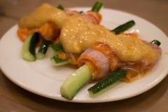 日本食物混合寿司 库存照片