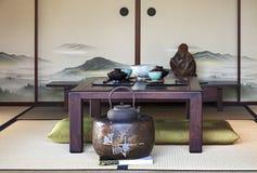 日本餐厅 免版税图库摄影
