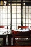 日本餐馆 免版税库存照片