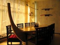 日本餐馆 图库摄影