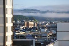 日本高山市都市风景 图库摄影