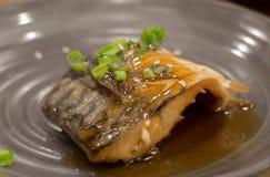 日本鱼寿司 免版税库存图片