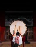 日本鼓 库存照片